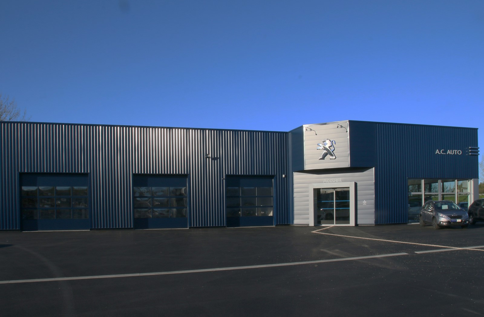 Ouverture garage peugeot la chataigneraie site for Garage peugeot chateaulin