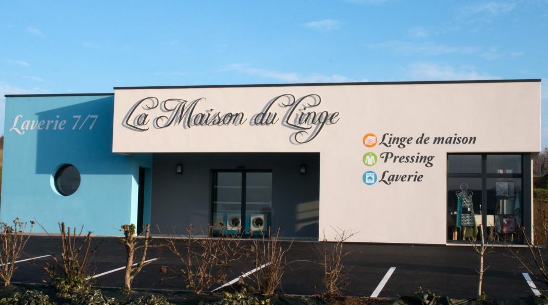 La maison du linge ouvre ses portes la chataigneraie site internet de la - Linge de maison habitat ...